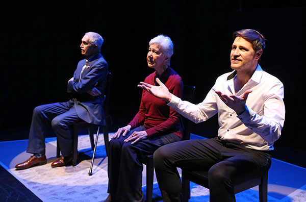 Lawrence Merritt, Melanie Boland and David Rosar Stearns from A DIFFERENCE OF BEAUTY in THE OTHER PLAYS (photo by Carol Rosegg)