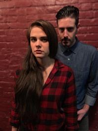 Mackenzie Menter as Miranda, Brendan Cataldo as Calvin - Photo by Random Access Theatre (1)